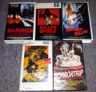 5x VHS Horrortrip Fluch der Dämonen Midnight Killer Spiele