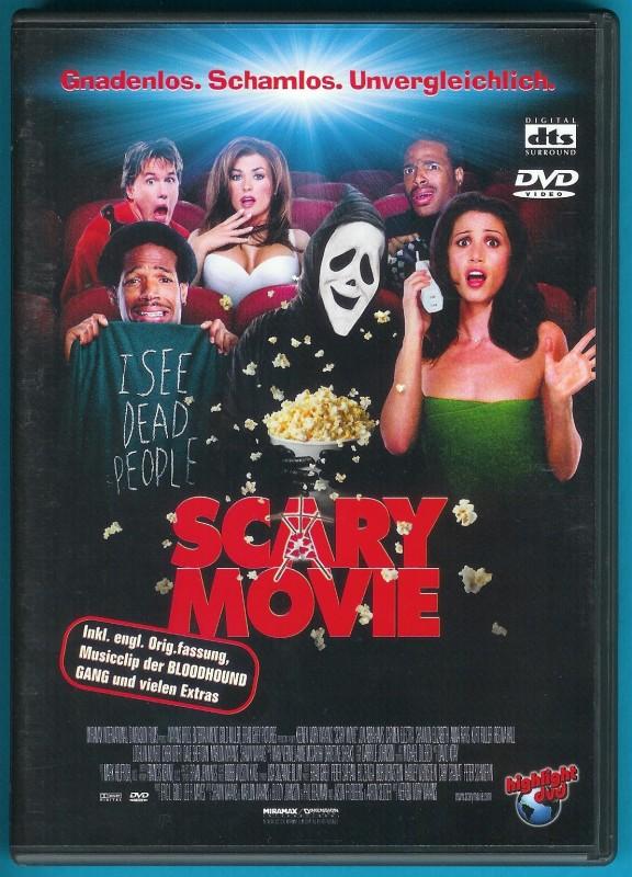Scary Movie DVD Shannon Elizabeth, Carmen Electra NEUWERTIG
