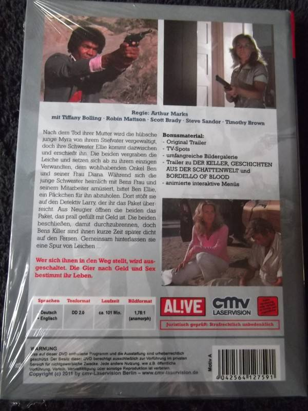 TÖCHTER DES BÖSEN UNCUT DVD HARTBOX COVER: A NEU / OVP