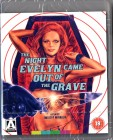 THE NIGHT EVELYN CAME OUT OF THE GRAVE - Giallo - BLURAY