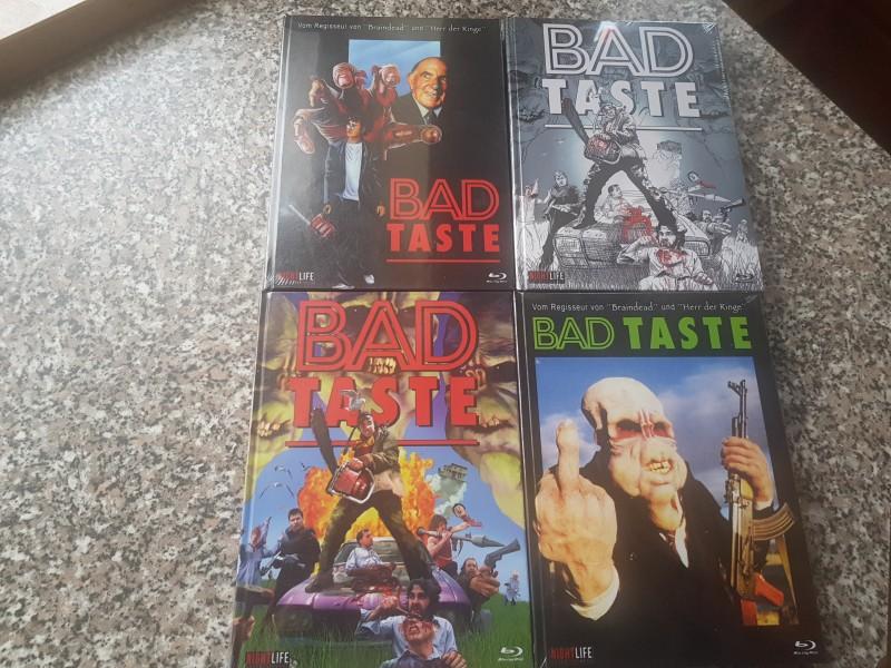 4   X   BAD  TASTE   MEDIABOOK    OVP