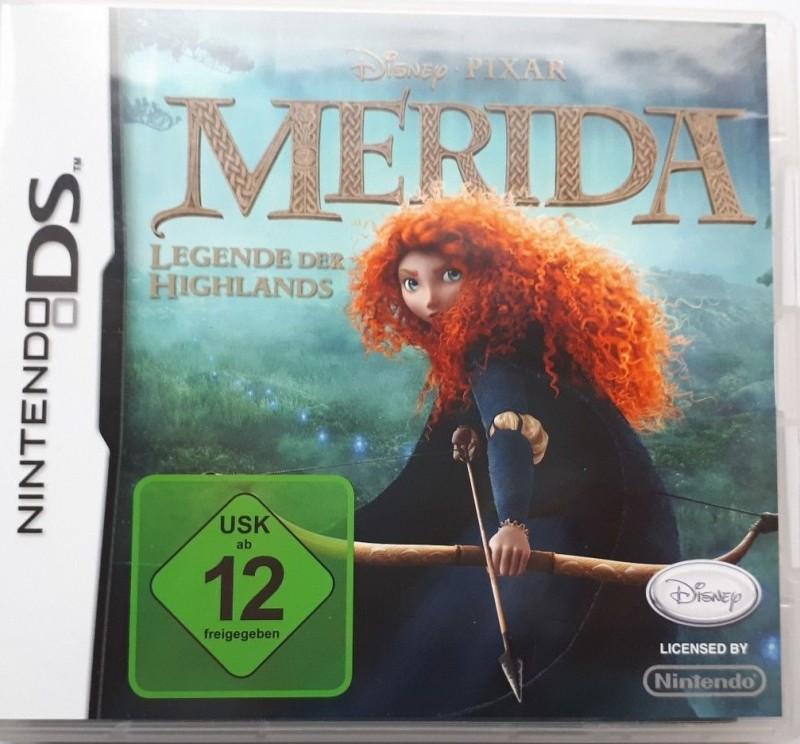 Disney- MERIDA - Legende der Highlands- Nintendo DS