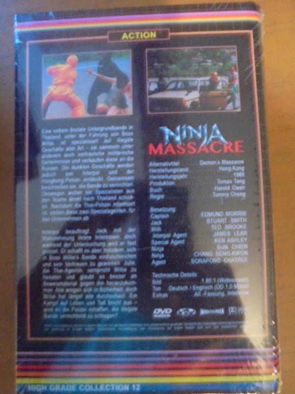 Ninja Massacre Gr. Hartbox Gr. Hardbox