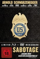 Sabotagel (Limited 2-Disc Edition) (Mediabook) ( OVP )