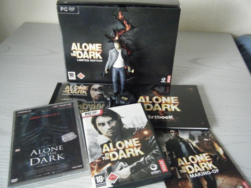 Alone in the Dark LIMITED EDITION + Movie DC