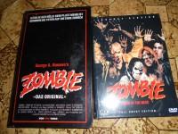 Zombie VHS und kleine Hartbox Hardbox George A. Romero