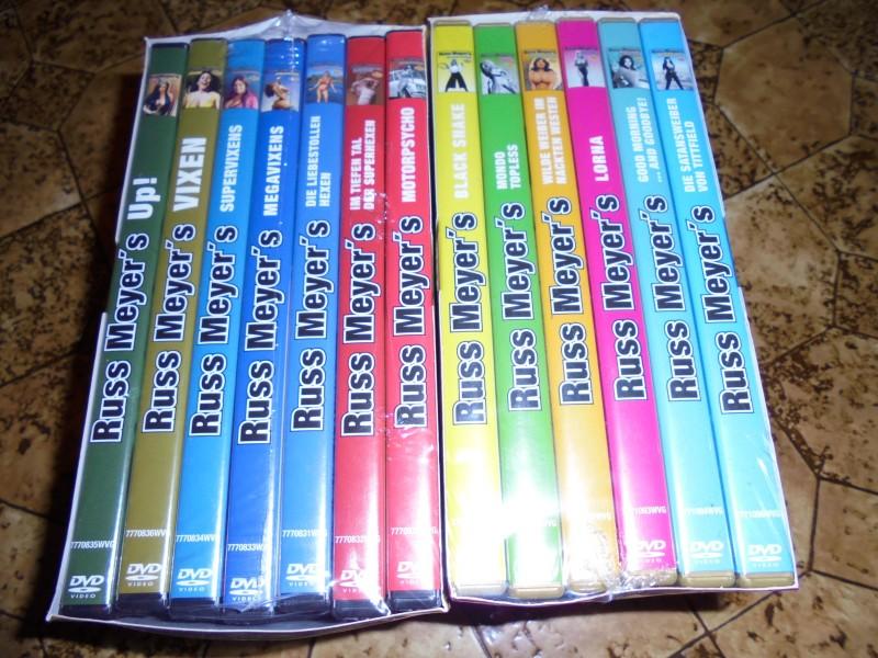 Russ Meyer 50 Jahre Kino Edition Box 1 eins 7 Titel Kult