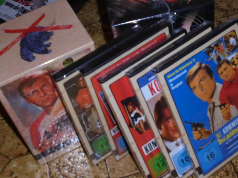 Kommissar X Anolis Box und alle Filme mit Bonus DVD