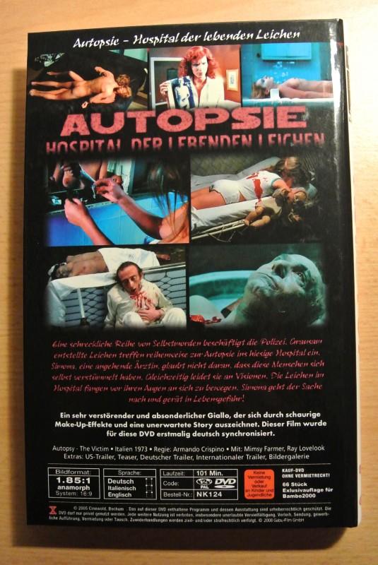 Autopsie - Hospital der lebenden Leichen - Limitiert