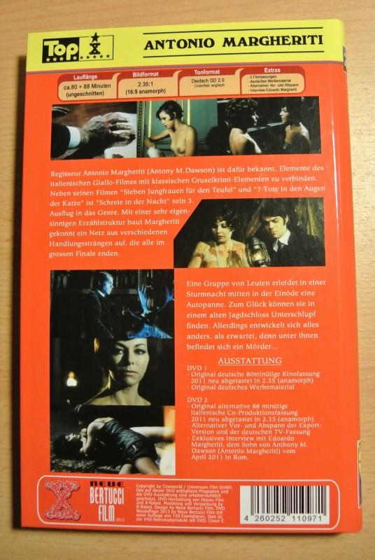 Schreie in der Nacht - Giallo - 2 DVD Set