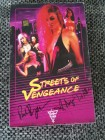 Streets of Vengeance VHS VULTRA VIDEO. SIGNIERT Big Box