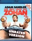 LEG DICH NICHT MIT ZOHAN AN Blu-ray - Adam Sandler - super!