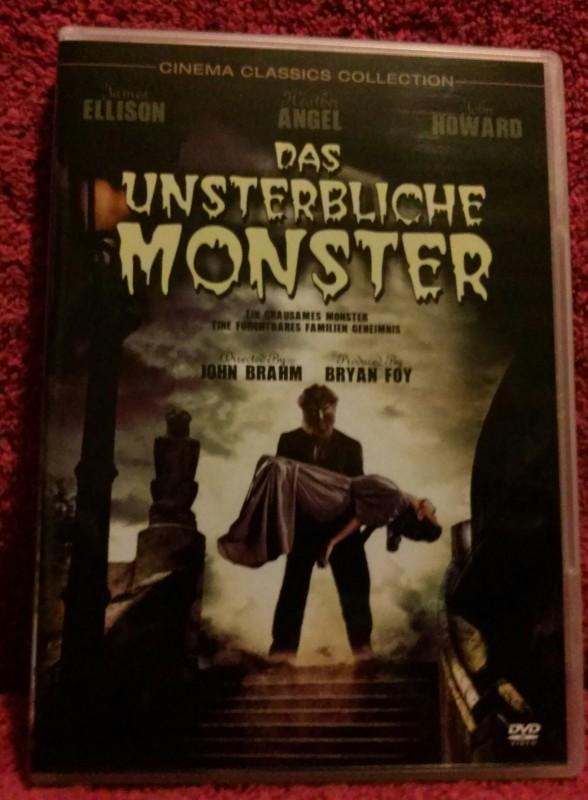 Das unsterbliche Monster DVD Werwolf Klassiker Uncut (J)