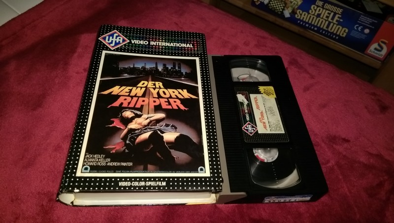 Der New York Ripper Vhs Erstauflage Ufa