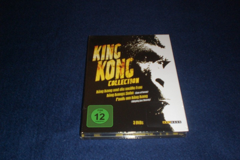 King Kong Collection ++ 3 DVDs ++ Mediabook ++ NEU! OOP!