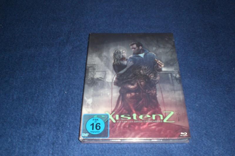 eXistenZ ++ Blu-Ray &  DVD ++ Mediabook ++ NEU! OVP!