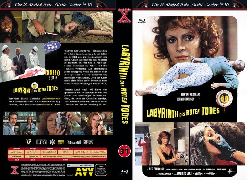 X-Rated: Labyrinth des Roten Todes (Gr. 2xBR Hartbox B)