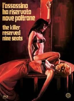 THE KILLER RESERVED NINE SEATS - JANET AGREN - UNCUT - OVP!!