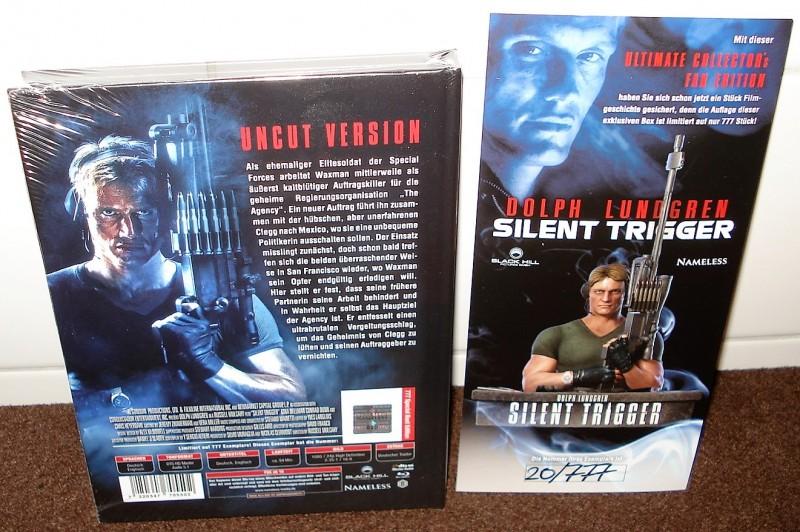 SILENT TRIGGER lim. 777 Büste Mediabook Edition (NEU/ OVP)