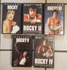 Rocky 1 - 2 - 3 - 4 - 5  (Warner / MGM) Sylvester Stallone