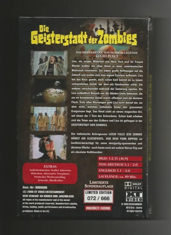 DIE GEISTERSTADT DER ZOMBIES # XT + NR. 072 / 666 + NEU&OVP