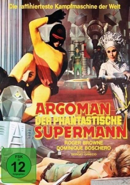 ARGOMAN - DER PHANTASTISCHE SUPERMANN - ROGER BROWNE - UNCUT