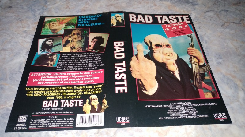 Bad Taste  / ORIGINAL COVER