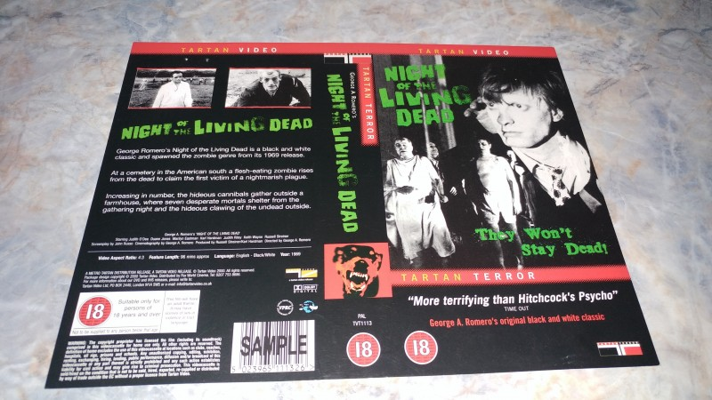 Night of the Living Dead  / ORIGINAL COVER