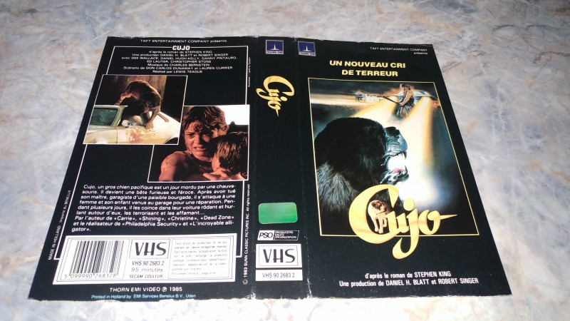 Cujo / ORIGINAL COVER
