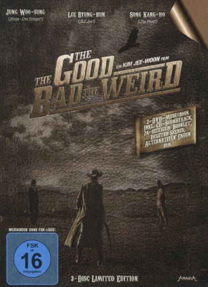 The Good The Bad The Weird (3-Disc Limited Edition, DVD)