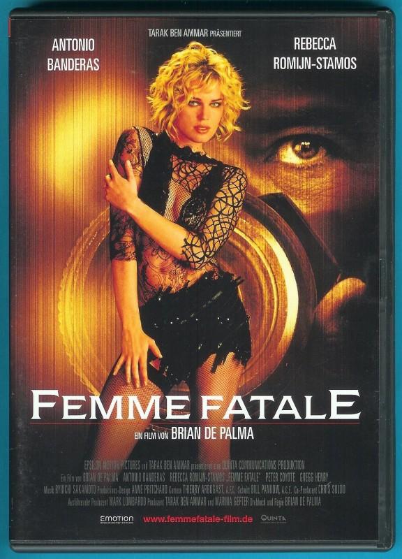 Femme Fatale DVD Rebecca Romijn-Stamos, Antonio Banderas sgZ