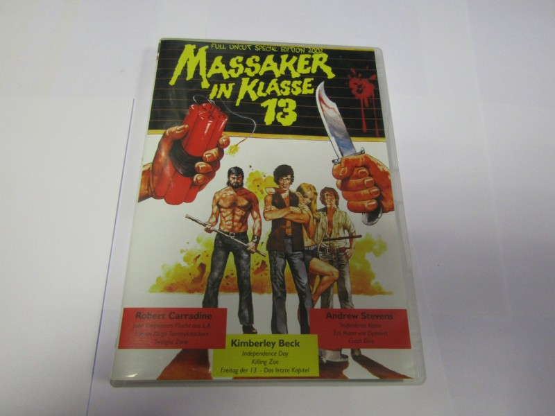 Massaker in Klasse 13 DVD Full Uncut Special Edition 2002