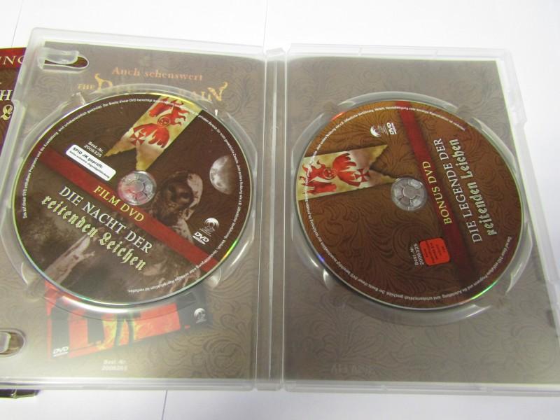 Die Nacht der reitenden Leichen DVD Uncut Fassung + BonusDVD