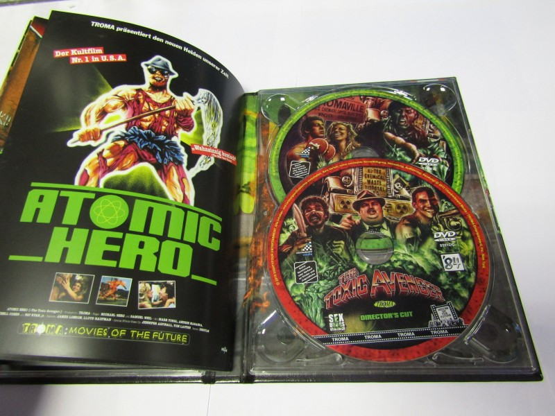 The Toxic Avenger Mediabook 3 Disc limited auf 999 Nr0194