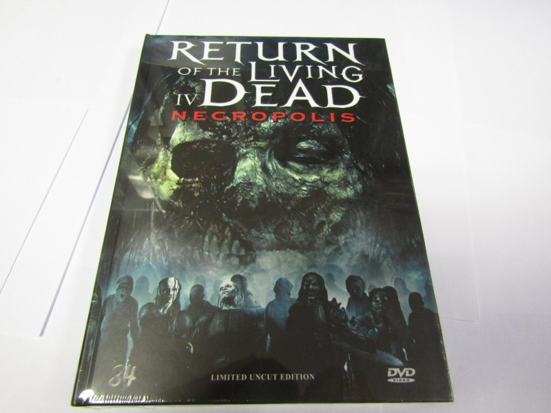 Return of the Living Dead 4 IV Necropolis Hardcoverbox NEU!!