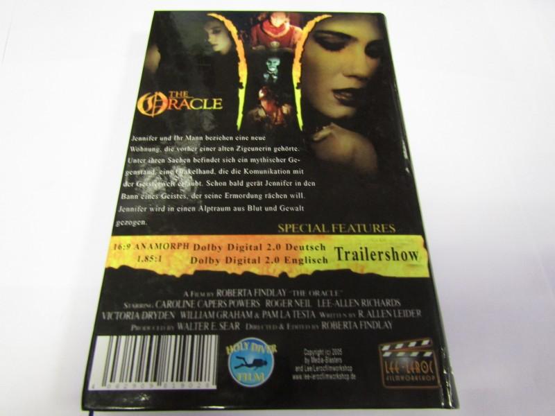The Oracle DVD Ungekürzte F. Hardcoverbox Roberta Findlay
