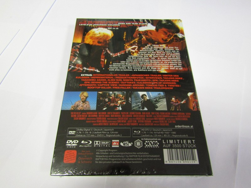 ICHI THE KILLER Mediabook 3Disc Limited Edition limited 3500
