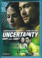 Uncertainty - Kopf oder Zahl? DVD Lynn Collins s. g. Zustand