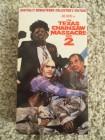The Texas Chainsaw Massacre 2 II (VHS) NTSC-Video Anchor Bay