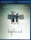 LIGHTS OUT Blu-ray - super Mystery Horror Thriller James Wan