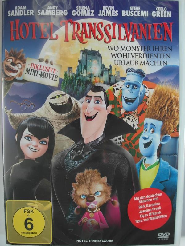 Hotel Transsilvanien - Monster Urlaub  Dracula, Frankenstein