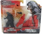 Bandai - Godzilla Figur - Pack of Destruction