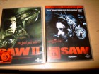 SAW - Director's Cut + SAW 2 - 2 DVDs