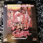 SQUIRM-Invasion der Killerwürmer-Blu-Ray-Unrated !