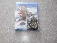 Russel Crowe NOAH Blu-Ray & DVD UNIKAT mit Halsband