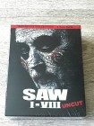 SAW 1-8  /KOMPLETT DEFINITIVE COLLECTION BLURAY - UNRATED