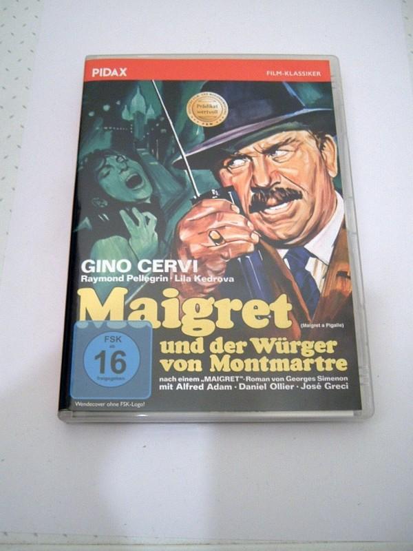 Giallo: Maigret und der Würger von Montmartre, Pidax, selten