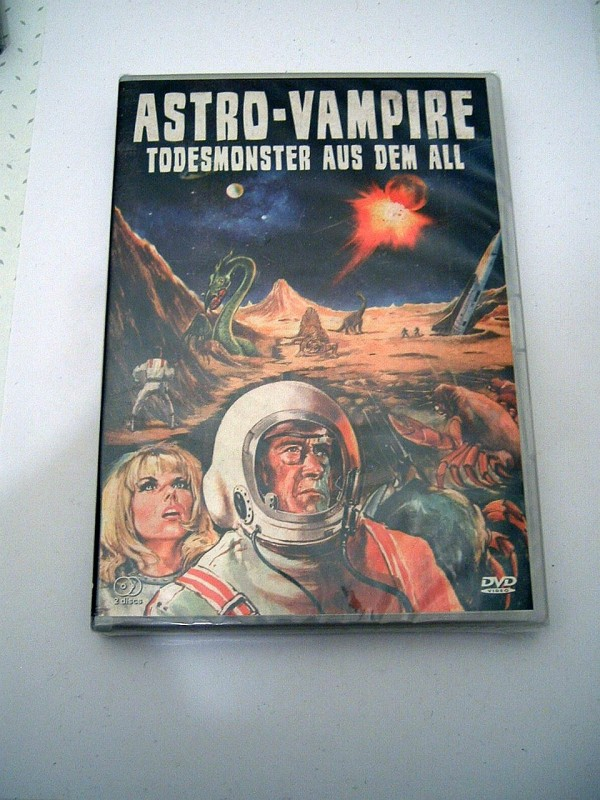 Astro Vampire - Todesmonster aus dem All (2 DVD´s, OVP)