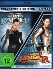 Lara Croft TOMB RAIDER 1 & 2 2x Blu-ray Angelina Jolie