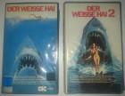 der Weisse Hai 1 und 2  CIC Video VHS